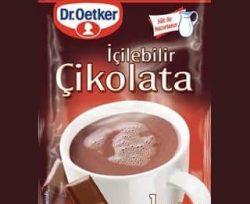 dr oetker icilebilir cikolata toz karisim gr