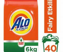 Alo Platinum Fairy Etkili Çamaşır Deterjanı 6 Kg