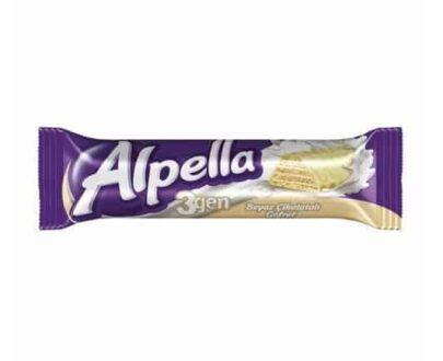Alpella 3gen Gofret Beyaz 28 gr