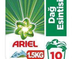 Ariel 1.5 kg Toz Çamaşır Deterjanı Dağ Esintisi Beyazlar İçin