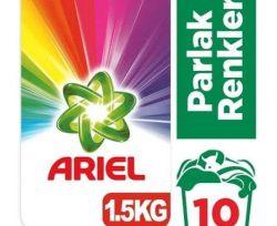 Ariel 1.5 kg Toz Çamaşır Deterjanı Parlak Renkler