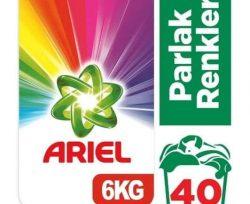 Ariel 6 kg Toz Çamaşır Deterjanı Parlak Renkler