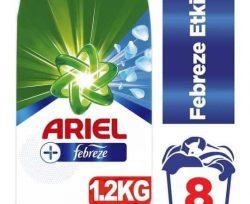 Ariel Plus 1.2 kg Toz Çamaşır Deterjanı Febreze Etkili
