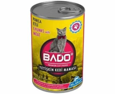 Bado Kedi Maması Konserve 415 gr Etli