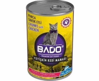 Bado Kedi Maması Konserve 415 gr Tavuk Etli