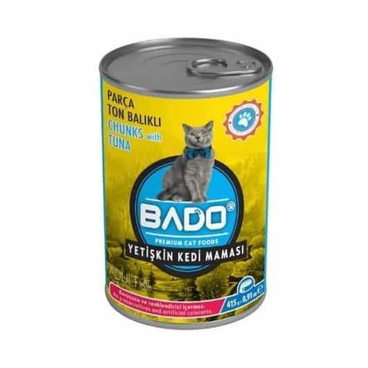 Bado Kedi Maması Konserve 415 gr Ton Balıklı