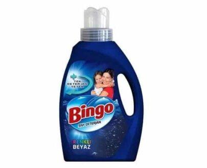 Bingo 33 Yıkama Sıvı Çamaşır Deterjanı Renkli Beyaz 2145 ml