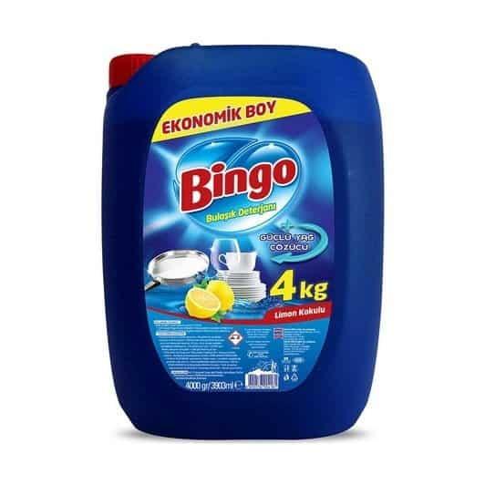 bingo sivi bulasik deterjani 4 kg a35d