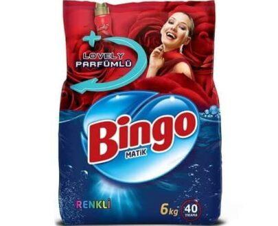 Bingo Toz Çamaşır Deterjanı Renkli 6 kg