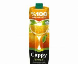 Cappy % 100 Portakal Suyu 1 l