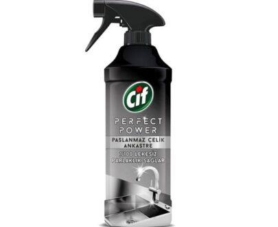 cif perfect sprey paslanmaz celik 435 ml ff12
