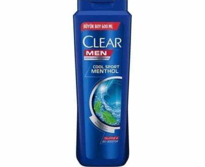 Clear Men Şampuan Cool Sport Menthol 600 ml