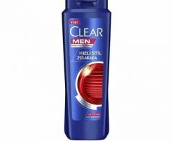 Clear Men Şampuan Hızlı Stil 2 si 1 Arada 600 ml