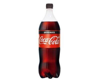 Coca Cola Şekersiz Pet 1 lt
