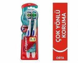Colgate Diş Fırçası 360 Orta 1+1