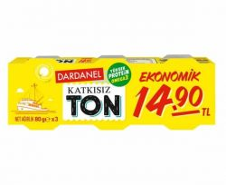 Dardanel Ton Ekonomik 3×80 g