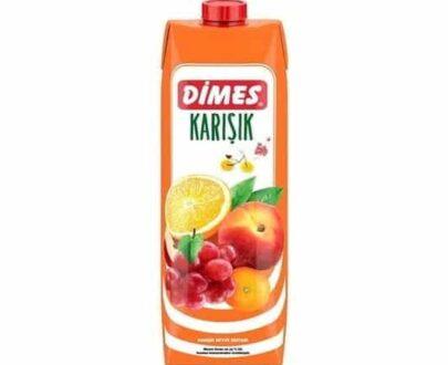 Dimes Karışık Meyve Suyu 1 lt
