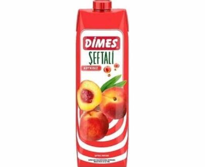 Dimes Meyve Suyu Şeftali1 lt