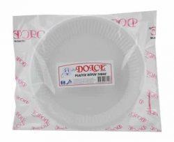Dolce Plastik Orta Tabak 10'lu