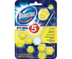 Domestos Wc Blok Güç Limon 5'li