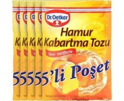 Dr.Oetker Kabartma Tozu 5'li 50 gr