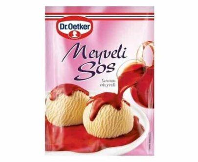 Dr.Oetker Meyveli Sos 80 gr