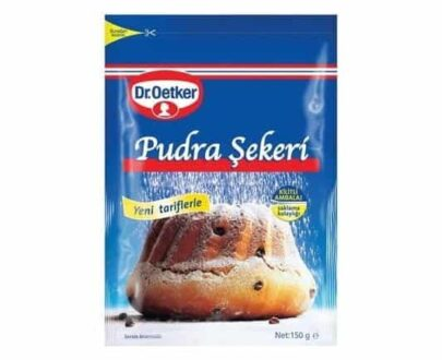 Dr.Oetker Pudra Şekeri Kilitli Paket 150 gr