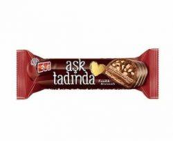 Eti Çikolatalı Sütlü Çikolata Kaplı Fındık Kremalı Gofret 45 gr