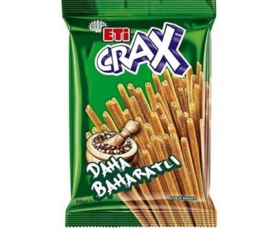 Eti Crax Baharatlı Çubuk Kraker 80 Gr
