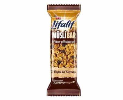 Eti Lifalif Bitter Çikolatalı Müsli Bar 35 gr