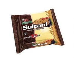 Eti Sultani Burçak Bisküvi 3'lü 369 gr