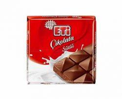 Eti Sütlü Kare Çikolata 70 gr