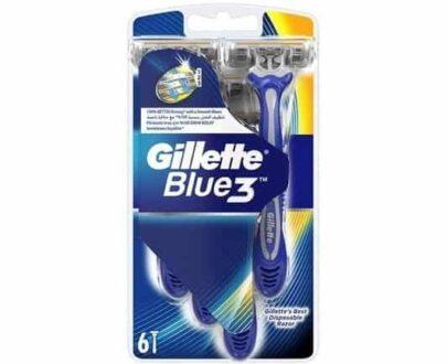 Gillette Blue III Regular 6'lı