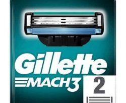 Gillette M3 Bıçak 2'li