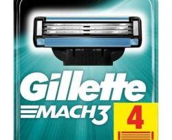 Gillette M3 Bıçak 4'lü