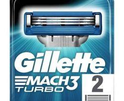 Gillette M3 Turbo Bıçak 2'li