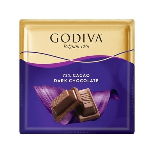 godiva 72 bitter kare cikolata 60 gr 0143