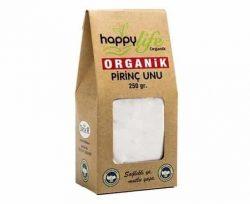 Happy Life Pirinç Unu Organik 250 gr