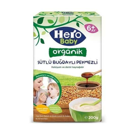 hero baby mama organik bugdayli pekmezli ac