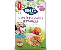Hero Baby Mama Sütlü 8 Tahıllı Meyveli 200 gr
