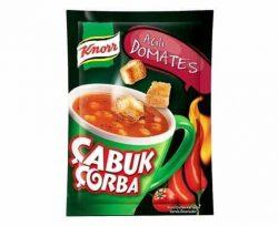Knorr Çabuk Çorba Acılı Domates 22 gr