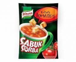 Knorr Çabuk Çorba Kıtırlı Domates 22 gr