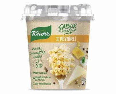 Knorr Çabuk Makarna 3 Peynirli 67 Gr