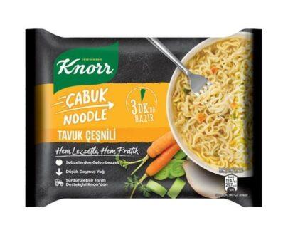 Knorr Cabuk Noodle Tavuk Cesnili Gr F