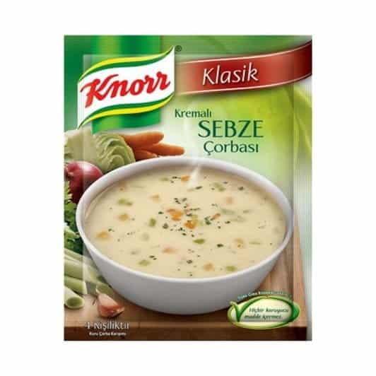 Knorr Çorba Kremalı Sebze 68 gr