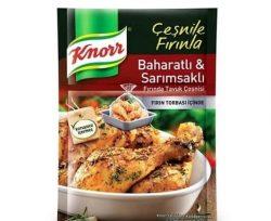 Knorr Harç Fırında Tavuk Baharatlı Sarımsaklı