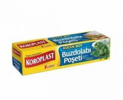 Koroplast Küçük Buzdolabı Poşeti 20×30 40'lı