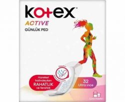 kotex active gunluk ped li