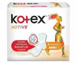 Kotex Active Normal 8'li
