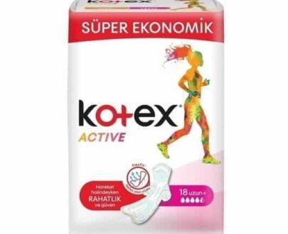 Kotex Active Süper Eko Uzun 18'li